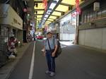 阿波池田商店街で.JPG