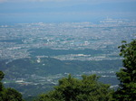金剛山から狭山池遠望.JPG